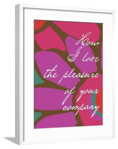 How I Love-Lisa Weedn-Framed Art Print