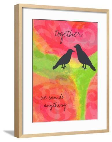 Together-Lisa Weedn-Framed Art Print