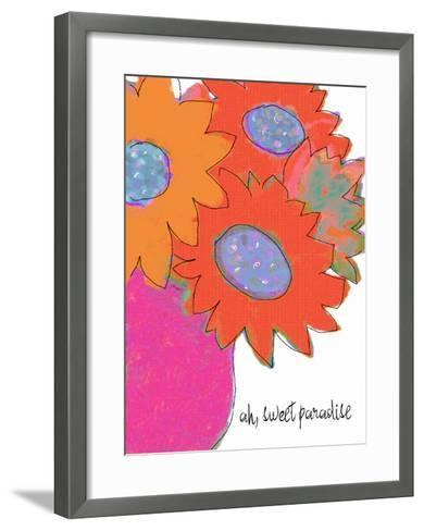 Oh Sweet Paradise-Lisa Weedn-Framed Art Print