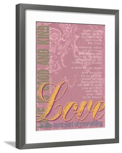 Love 2-Lisa Weedn-Framed Art Print