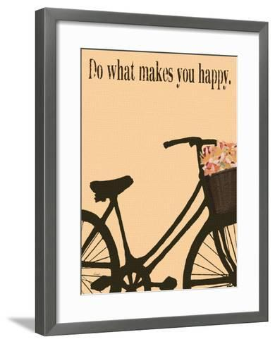 Do What Makes You Happy-Lisa Weedn-Framed Art Print