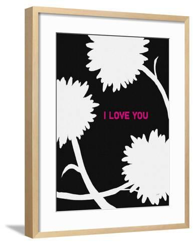 I Love You-Lisa Weedn-Framed Art Print