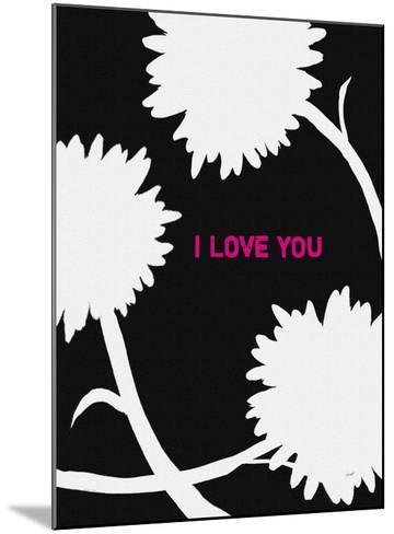 I Love You-Lisa Weedn-Mounted Giclee Print