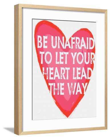 Be Unafraid-Lisa Weedn-Framed Art Print