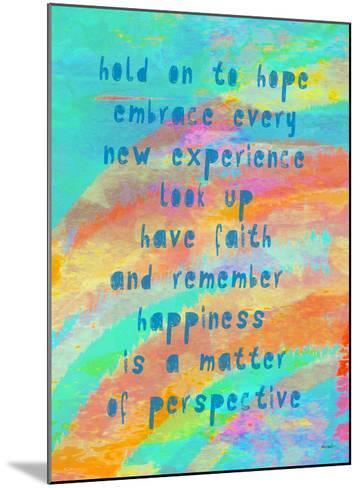 Hold On To Hope-Lisa Weedn-Mounted Giclee Print