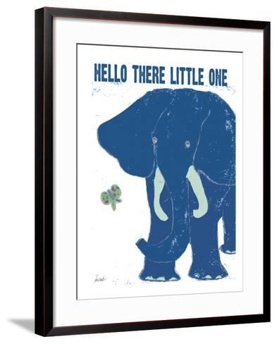 Hello There-Lisa Weedn-Framed Art Print