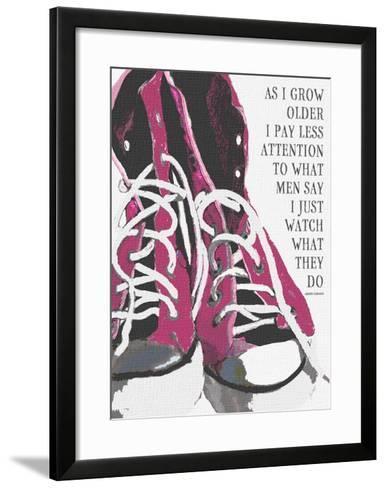 As I Grow Older-Lisa Weedn-Framed Art Print