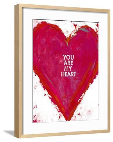 You Are My Heart-Lisa Weedn-Framed Art Print
