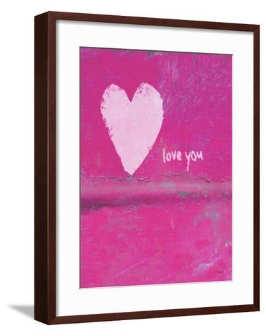 Heart Love You-Lisa Weedn-Framed Art Print