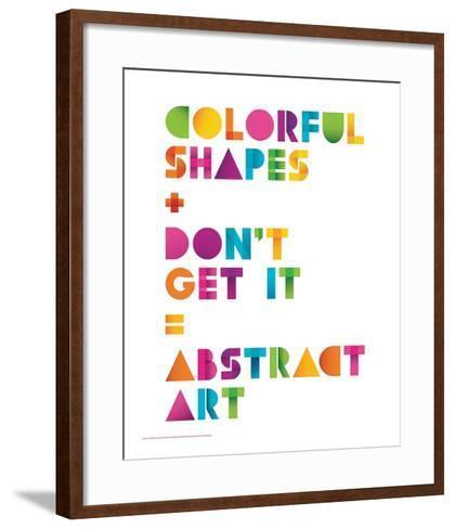 Abstract Art-JJ Brando-Framed Art Print