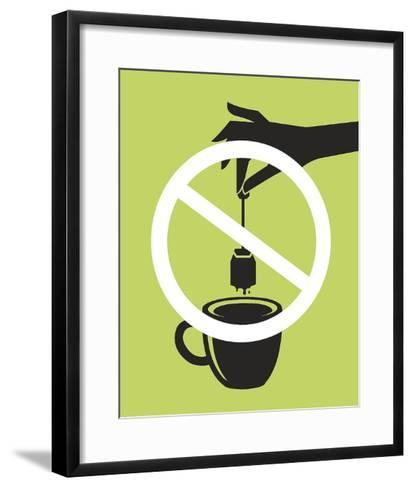 No Tea Bagging-JJ Brando-Framed Art Print