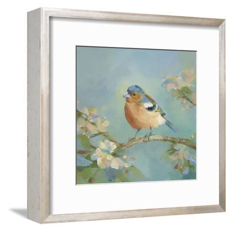 Woodland Birds II-Sarah Simpson-Framed Art Print
