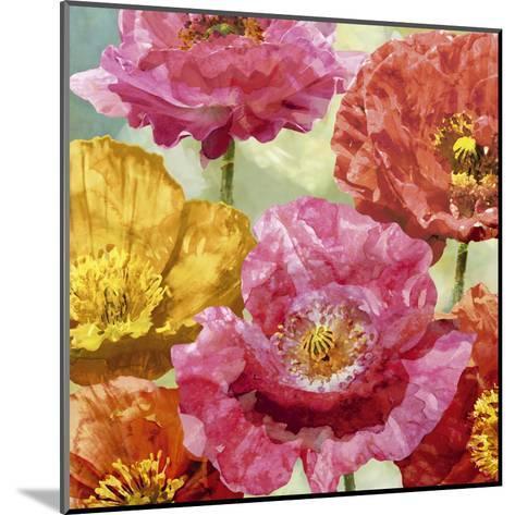 Playful Poppies II-Tania Bello-Mounted Art Print