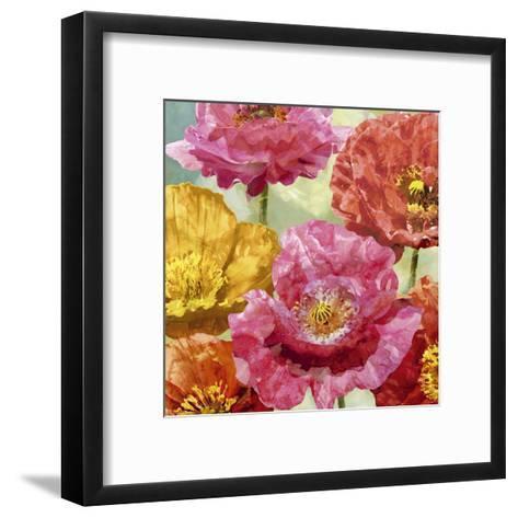 Playful Poppies II-Tania Bello-Framed Art Print
