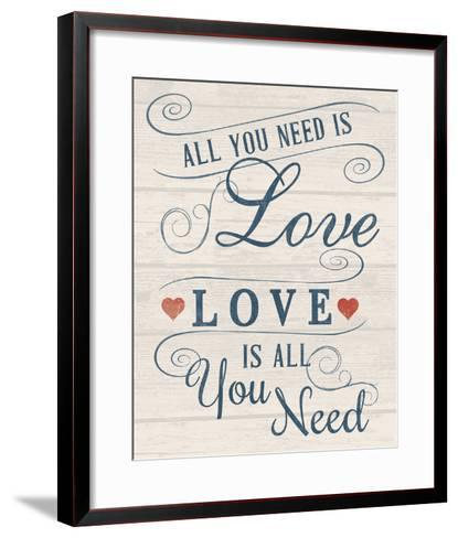 All You Need is Love-Tom Frazier-Framed Art Print