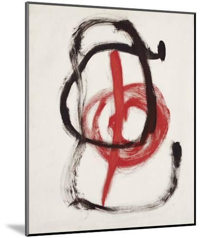 Painting II, 1967-Joan Miro-Mounted Art Print