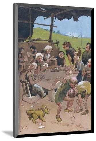 The Card Players-Lawson Wood-Mounted Premium Giclee Print