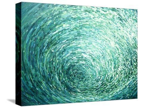 Cresting Left-Margaret Juul-Stretched Canvas Print