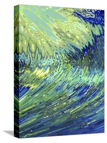 Curving Underwater-Margaret Juul-Stretched Canvas Print