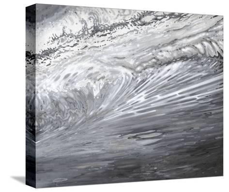 Underwater Turbulance-Margaret Juul-Stretched Canvas Print
