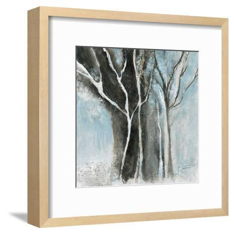 Glacial blue I-Kathleen Cloutier-Framed Art Print