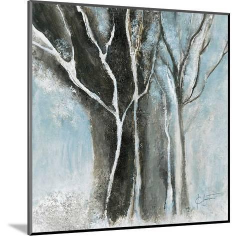 Glacial blue I-Kathleen Cloutier-Mounted Art Print