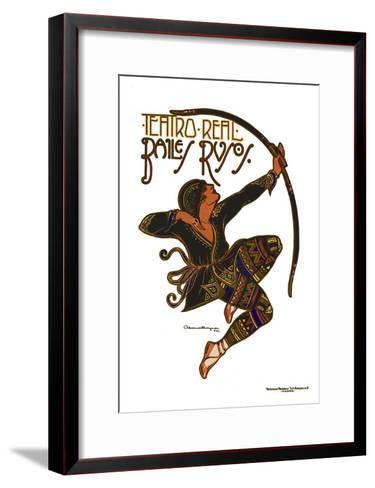 Teatro Real-Archive-Framed Art Print