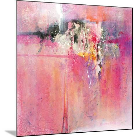 Pink orchid-Carole Malcolm-Mounted Art Print