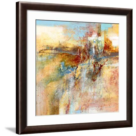 Warm it up-Carole Malcolm-Framed Art Print