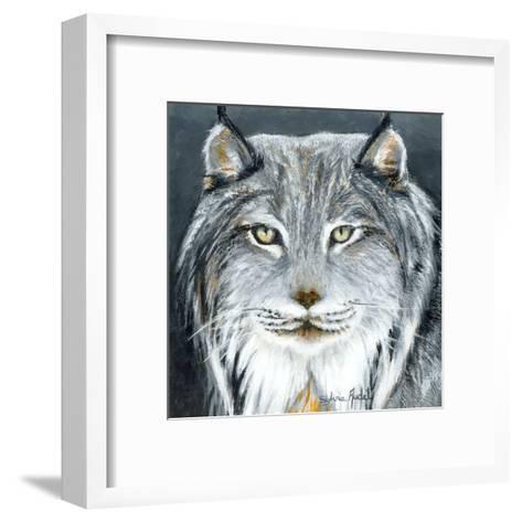 Lynx-Sylvia Audet-Framed Art Print