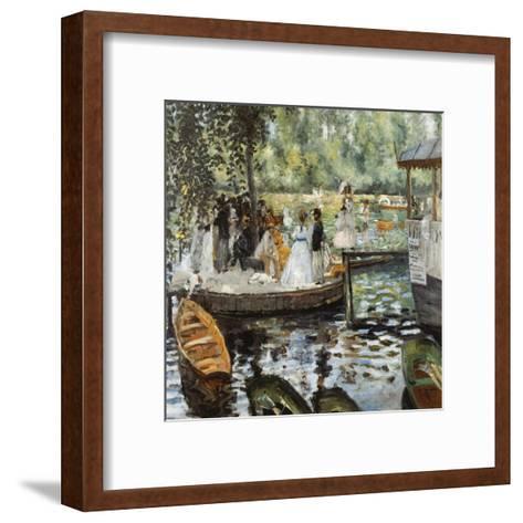 La Grenouillère 2-Pierre-Auguste Renoir-Framed Art Print