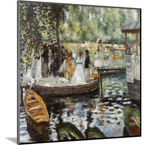 La Grenouillère 2-Pierre-Auguste Renoir-Mounted Art Print