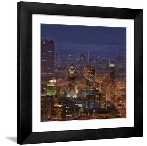 Montreal view-Jefd-Framed Art Print