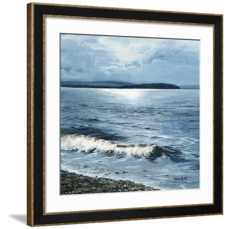 Vent chaud d'ouest sur le lac-Sylvia Audet-Framed Art Print