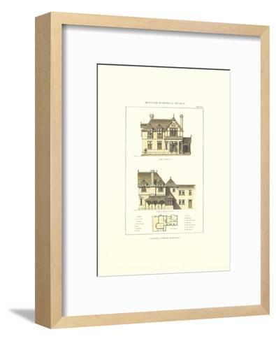 R?sidence a Wootton. Ile de Wight-Archive-Framed Art Print