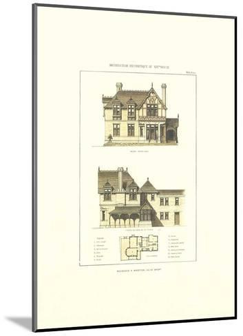 R?sidence a Wootton. Ile de Wight-Archive-Mounted Art Print