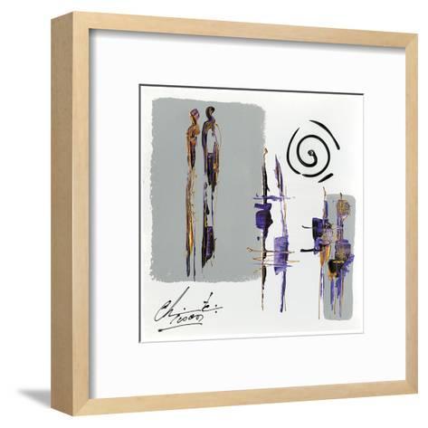 Meditation-Christine Tison-Framed Art Print