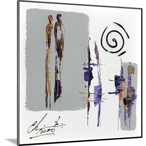 Meditation-Christine Tison-Mounted Art Print