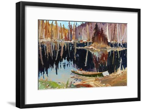 Lac Allard-Louis Tremblay-Framed Art Print