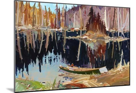 Lac Allard-Louis Tremblay-Mounted Art Print