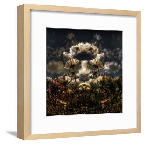 Miror floral I-Jean-Fran?ois Dupuis-Framed Art Print