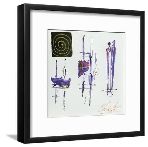 Sous le vent-Christine Tison-Framed Art Print