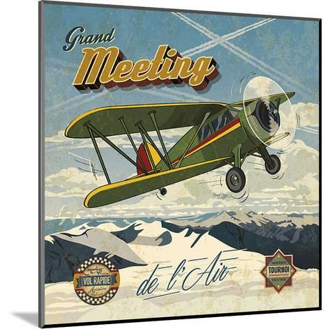 Grand meeting-Bruno Pozzo-Mounted Art Print