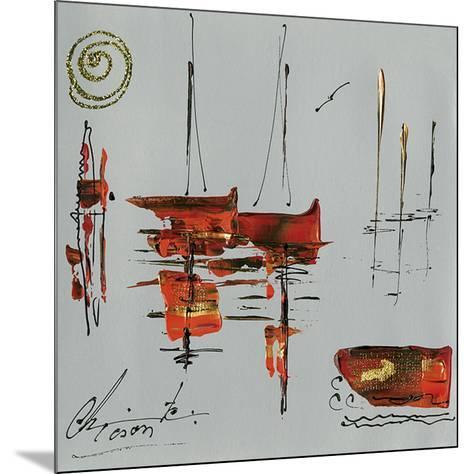 Le port-Christine Tison-Mounted Art Print
