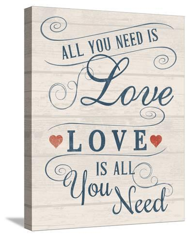 All You Need is Love-Tom Frazier-Stretched Canvas Print