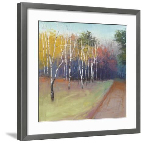 County Road-David Skinner-Framed Art Print