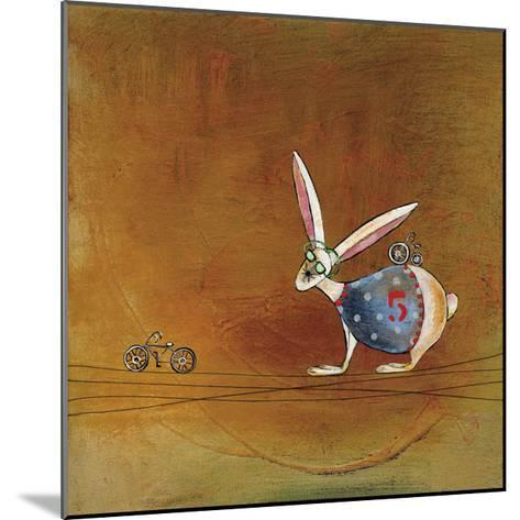 Hare Today-Stacy Dynan-Mounted Giclee Print