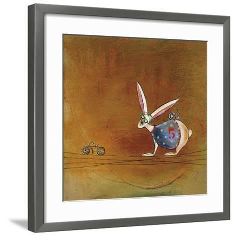 Hare Today-Stacy Dynan-Framed Art Print