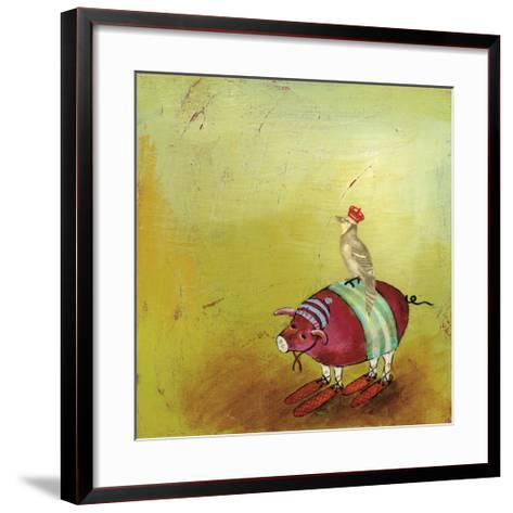 Feathers and Fur 7-Stacy Dynan-Framed Art Print
