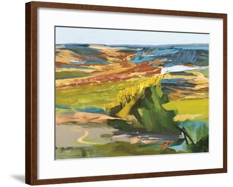 Late Summer Land-Lise Temple-Framed Art Print